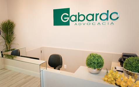 Foto de ambiente interno da Gabardo Advocacia